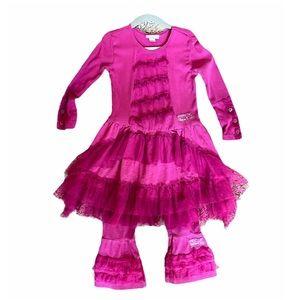 Naartjie 2-Piece Set (3T) dress & pants ruffled